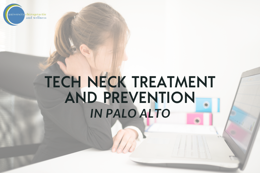 Tech Neck Treatment and Prevention in Palo Alto